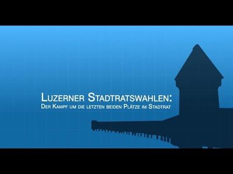 Podium Stadtratswahlen Luzern, 2. Wahlgang - 23. Mai