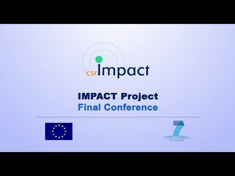 Impact Project Video 2 - CSR and Corporate Impact Assessment in the Societal Context