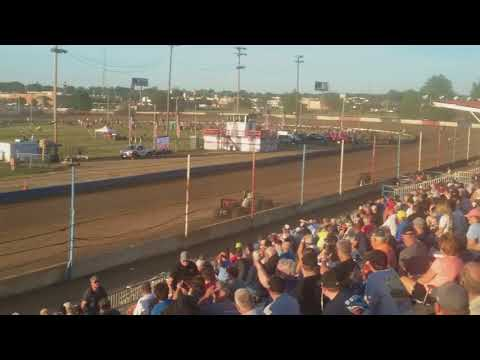 USAC Sprint Cars Heat 3 Terre Haute Action Track 5/23/18