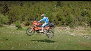 2 days Adventure in Peloponnese with 6 KTM's (4K)