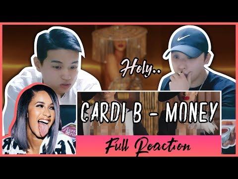 K-pop Artist Reaction Cardi B - Money