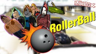 RollerBall ROBLOX family friendly game - Avoid all the balls!