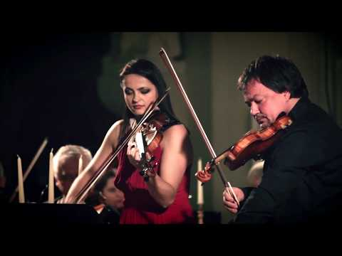 Bach Double Violin Concerto 1/3 - Sergej Krylov and Lana Trotovsek (HQ sound)