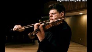 Guy Braunstein plays Nathan Milstein: Paganiniana