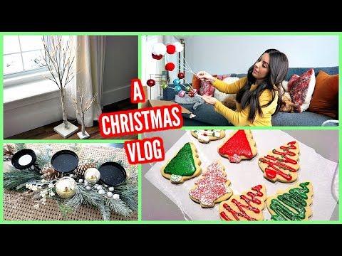 CHRISTMAS DECOR HAUL & BAKING CHRISTMAS COOKIES!
