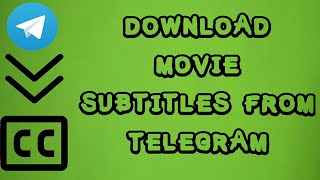 Gambar cover How to Download Movie Subtitles from Telegram