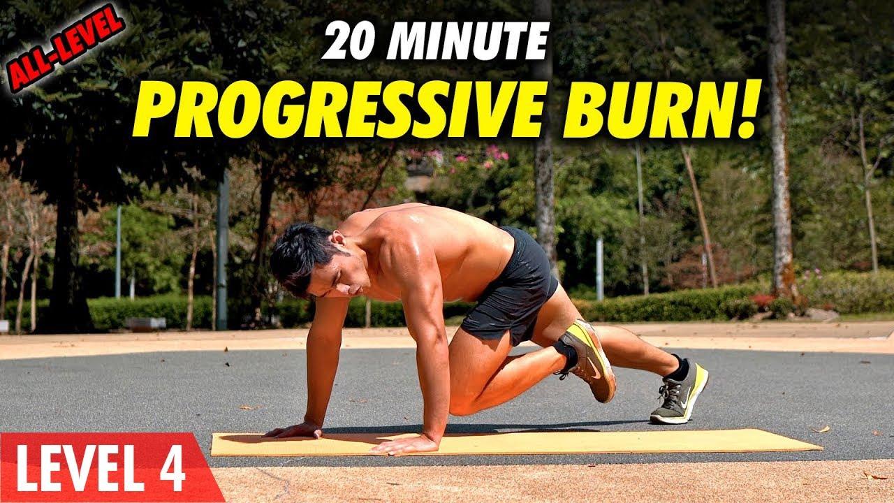 All Level Bodyweight Workout |  Weightloss & Muscular Endurance (Level: 2-4.5)