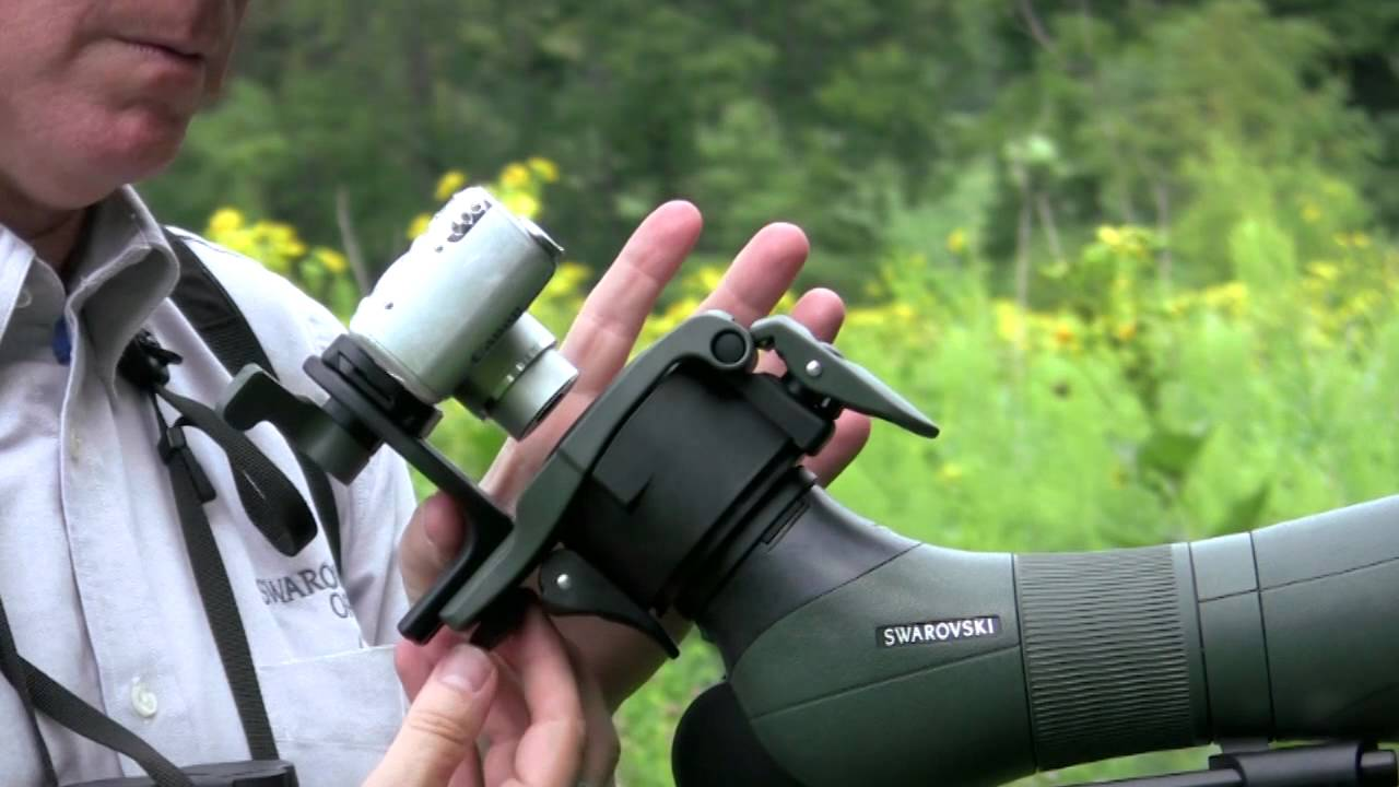 Digiscoping With Swarovski Atm Stm Or Ats Sts Spotting Scopes Youtube