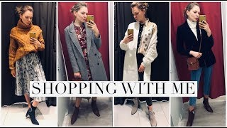 Come Shopping With me And Try On In Store : Zara, H&M, M&S