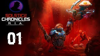 Let's Play Solstice Chronicles MIA - Ep. 1 - Twin-Stick Gameplay Of DOOM!