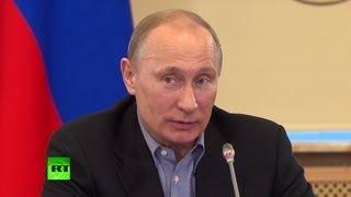 Путин предложил возродить сдачу норм ГТО
