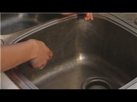 Kitchen Cleaning : How to Clean Rust in a Kitchen Sink