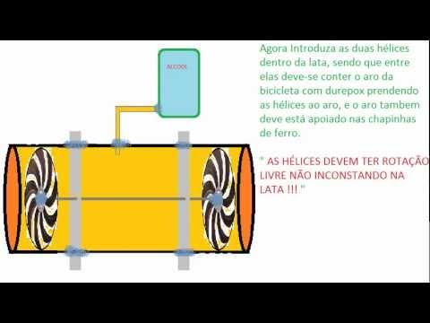 Como fazer uma Turbina de Avião !! (Making a Turbine Aircraft !!)