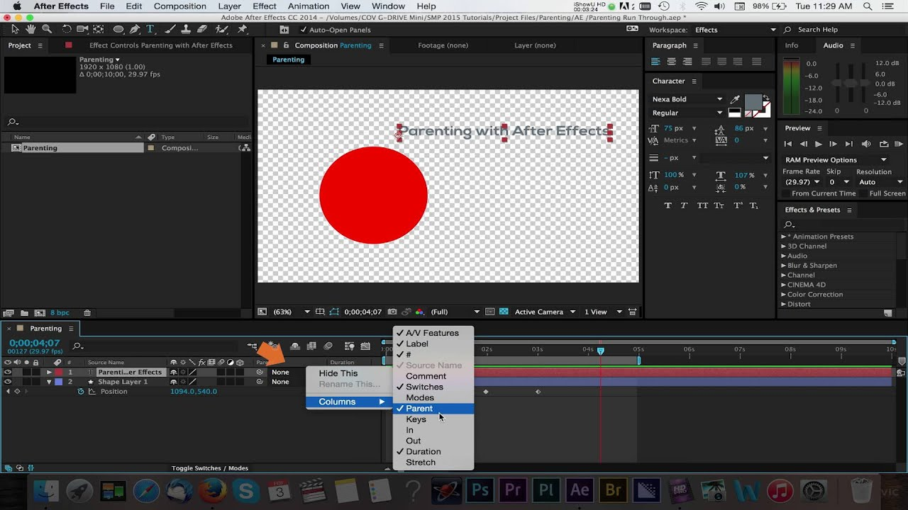 Update after effects cc 2014