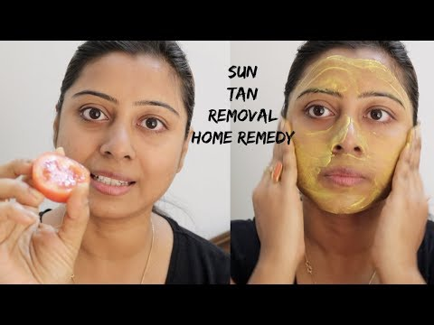 Sun Tan Removal Home Remedy by Soumali