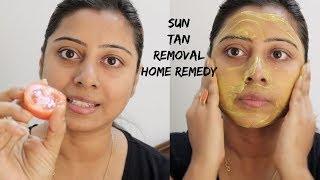 Sun Tan Removal Home Remedy by Soumali || सन टैन रिमूवल होम रेमेडी