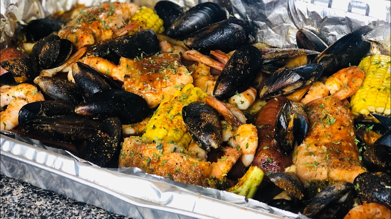 EASY SEAFOOD BOIL!   Cooking Cute