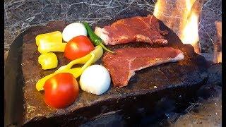 Мясо на камнях / Традиционная кухня кочевников