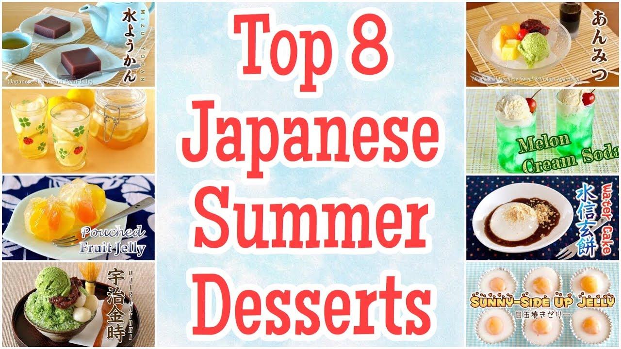 8 Japanese Summer Treats | Homemade Desserts: Water Cake, Honey Lemon Slices, and more | OCHIKERON