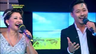 Народная артистка Казахской ССР   Роза Рымбаева в гостях у программы Доброе утро Казахстан