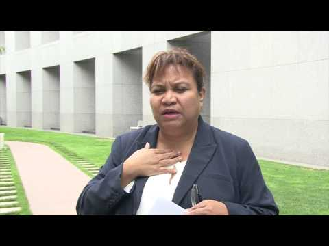 Interview with Palau women Senators