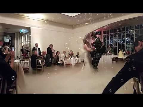 PHP Wedding DJs - First dance - Bubbles & Dry Ice effect! - 1