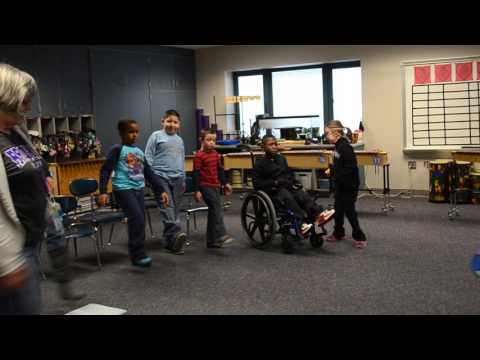 Teaching Music to Students with Special Needs-  The Hokey Pokey Freeze Game