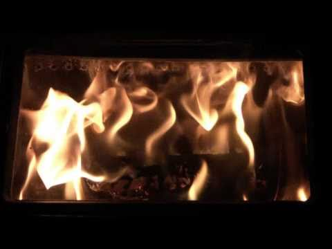 Our wood stove's secondary combustion explained
