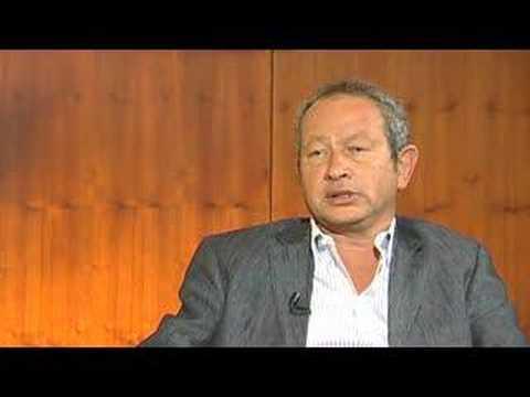 TELECOM Africa 2008: Naguib Sawiris, CEO, Orascom Telecom