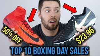 TOP 10 SOCCER CLEAT BOXING DAY SALES! *BEST PRICES OF 2017*