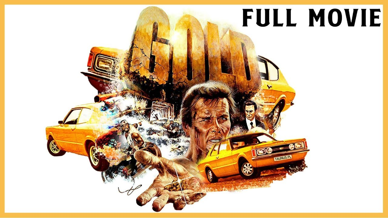 Gold (1974) Full Movie In English | Roger Moore | Action-Adventure -Thriller | Hollywood Movie | IOF