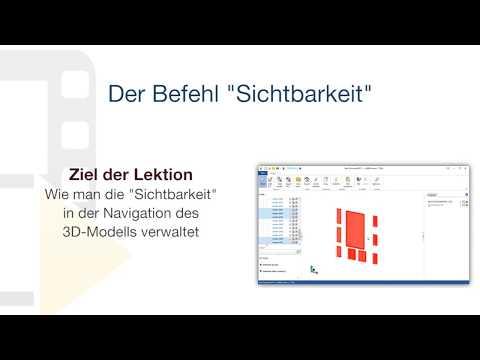 """Tutorial von usBIM.viewer+ - Der Befehl """"Sichtbarkeit"""" - ACCA software thumbnail"""
