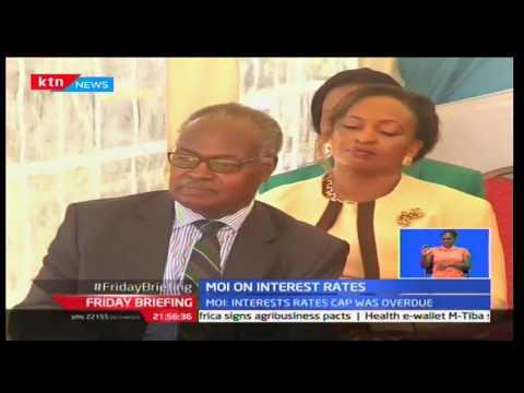 KTN Friday Briefing September 16 2016: President Daniel Moi applauds Uhuru for law on interest rate