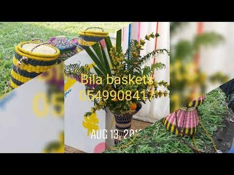 Ghana-Bolgatanga best basket weaving script.