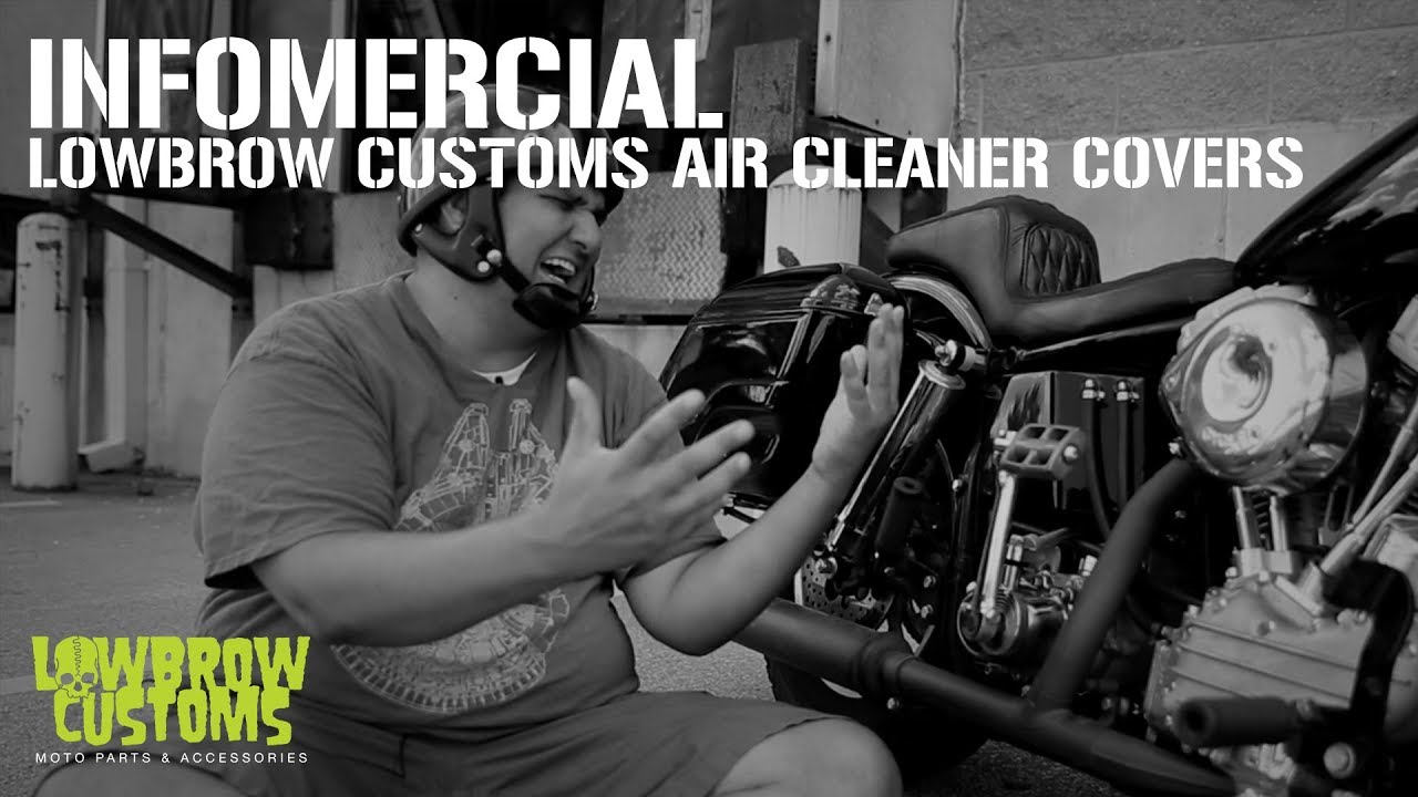VIDEO: Lowbrow Customs Air Cleaner Cover for Super E & G
