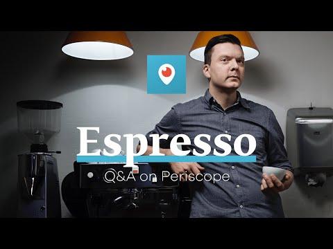 Espresso Q&A on Periscope with Tim Wendelboe
