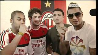 Boateng fa RAP con Pato, Thiago Silva e Robinho thumbnail