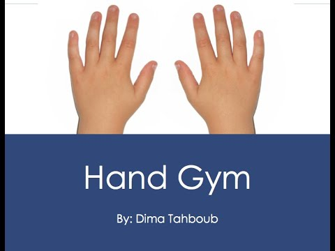 Hand Gym for Piano Students
