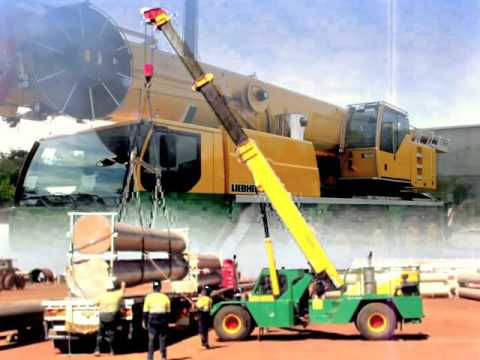 Copy of Purcell Crane Hire Lifting in the North West of WA