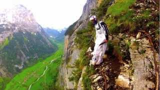 Base jumping Lauterbrunnen