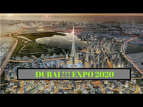 DUBAI FUTURE !!!!! EXPO 2020