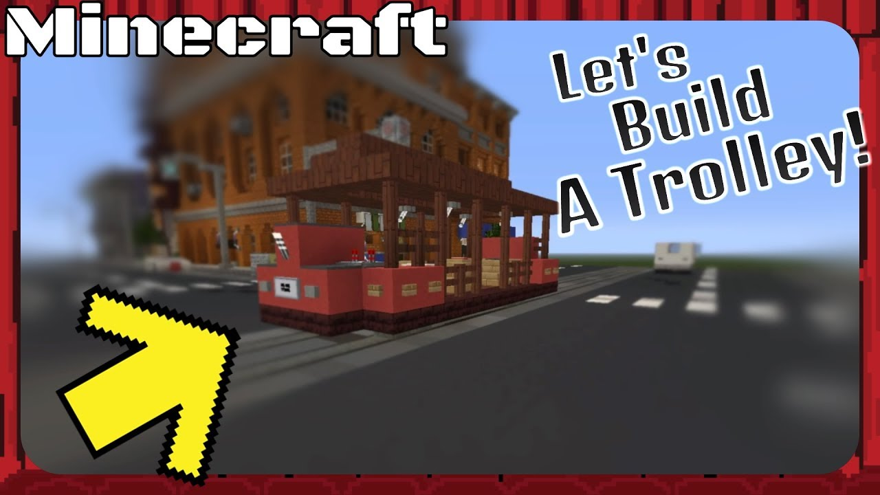 How to make a trolley in Minecraft 88