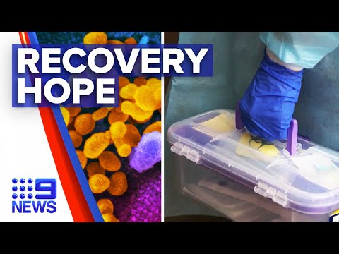 Coronavirus: Drug hoping to shorten recovery time rolled out   9 News Australia