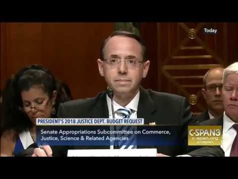 Deputy AG Rosenstein Knows Reason Fire Special Prosecutor Mueller