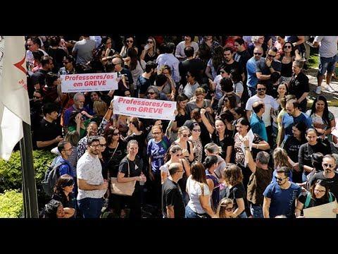 Greve vitoriosa do Sindicato dos professores de Minas Gerais