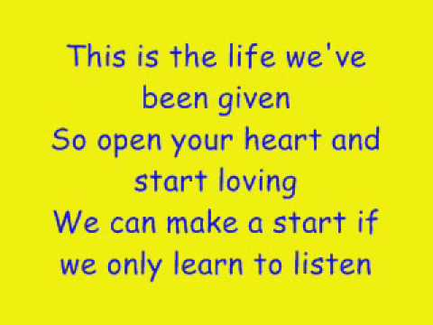Take That - The Garden (with lyrics!)