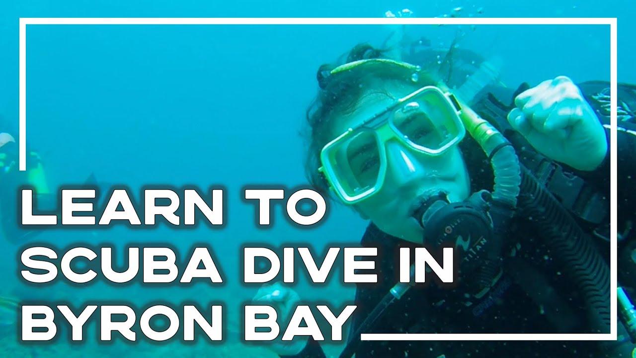 Learning to scuba dive in byron bay australia youtube - Dive byron bay ...