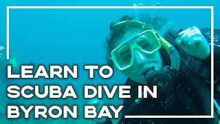 Learning To Scuba Dive In Byron Bay, Australia
