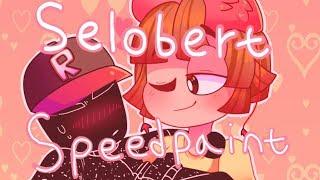 [ROBLOX SPEEDPAINT] - Albert x Selozar
