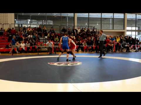 2015 Junior National Championships: 55 kg Bronze Ashley Osachuk vs. Krystin Paquette